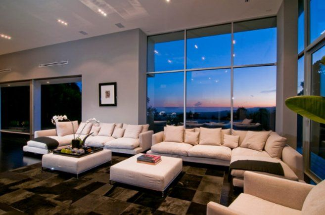 Expensive Living Rooms | ... » Contemporary Luxury Living Room Interior  Design Of Nightingale