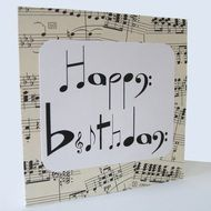 The Perfect Birthday Card For Musicians And Music Lovers