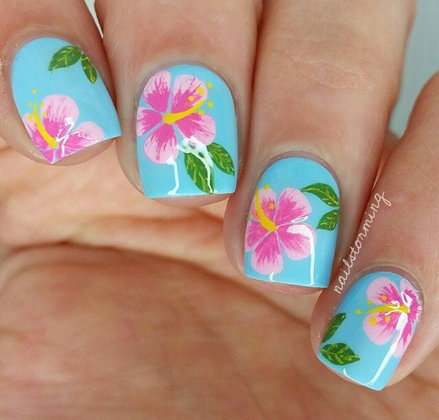 Pin by Hannah on Nails | Pinterest | Summer nail art and Manicure