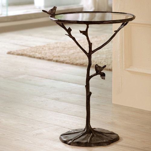 Bird And Branch End Table