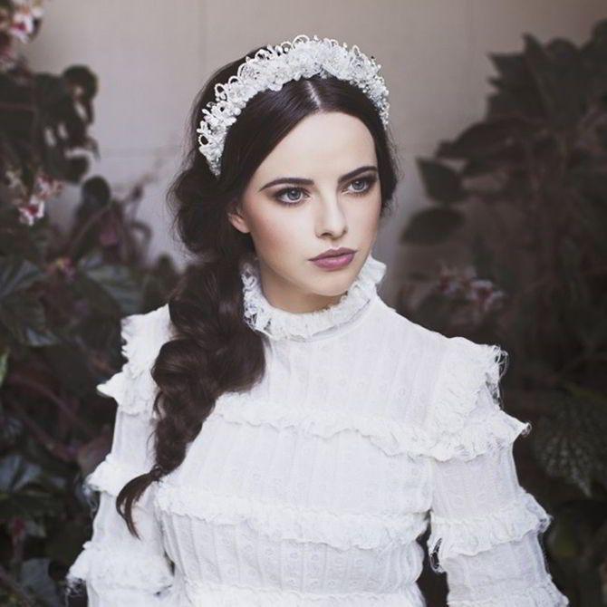 Viktoria Novak 2017 Bridal Couture Headpieces Majestic Empire