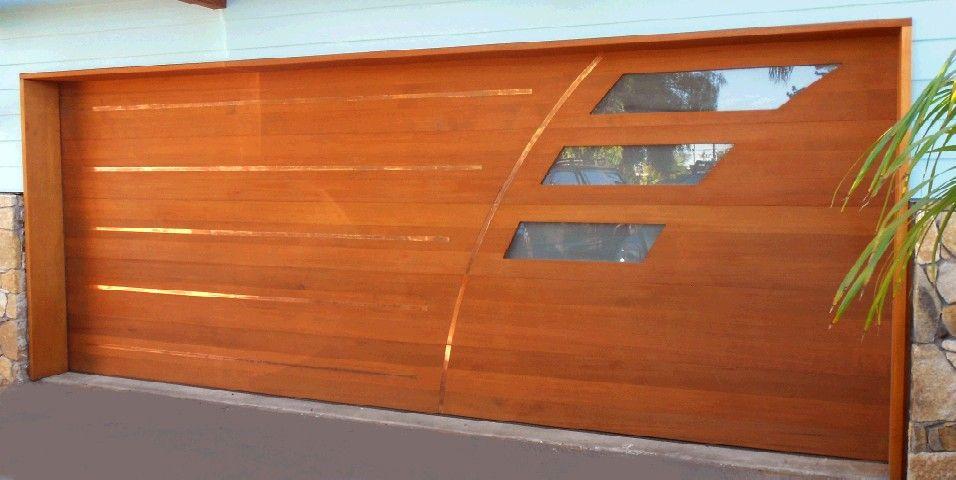 Wood And Glass Garage Door Gallery - Doors Design Ideas