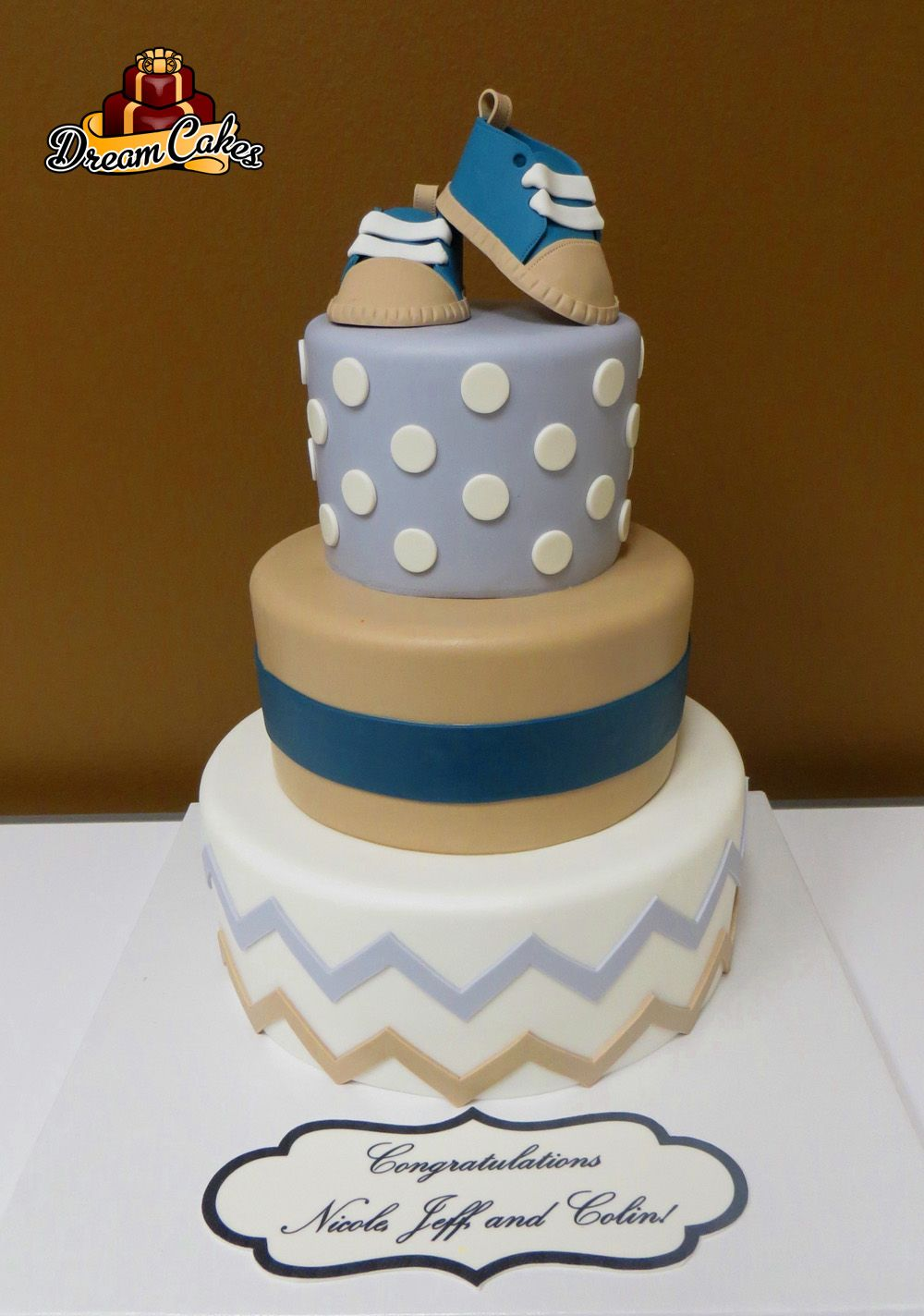 Baby Shower Cake By Dream Cakes Chicago Special Occasion