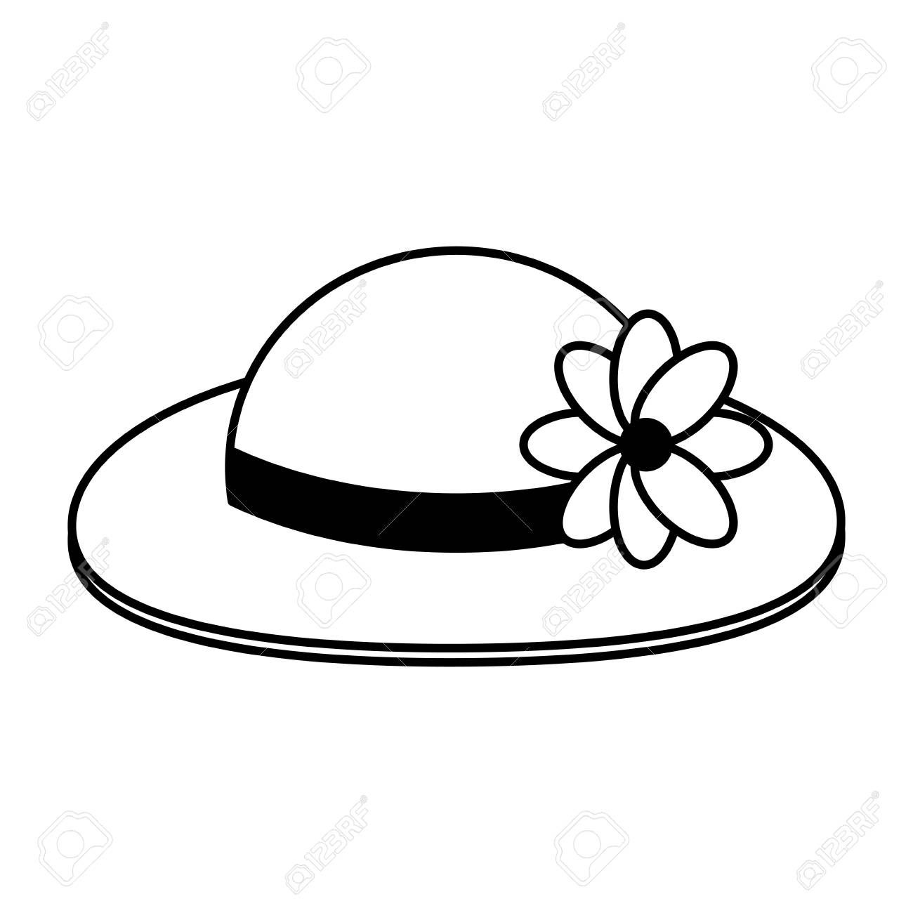 Hat Clipart Black And White Ideas Clipart Black And White Hat Clipart Black And White