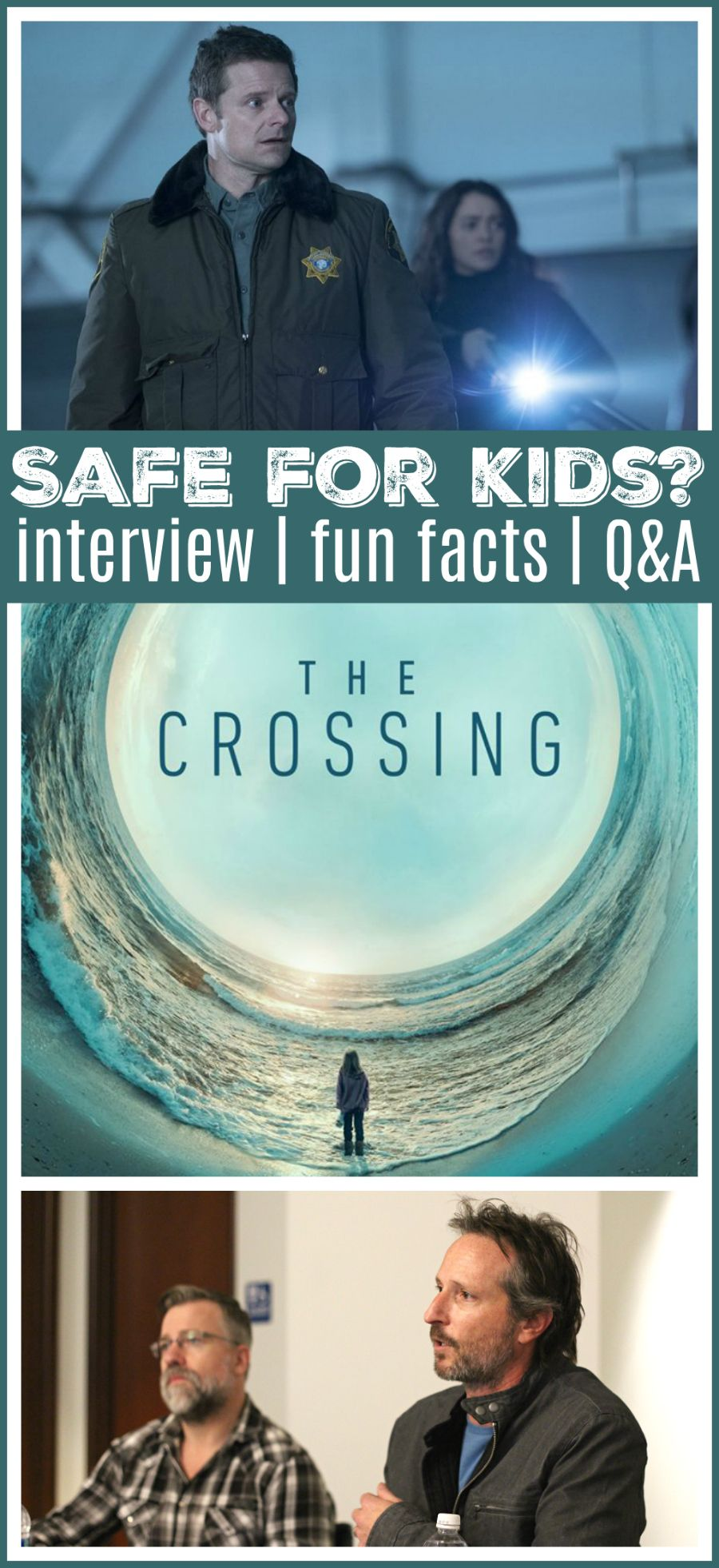 ABC's The Crossing Interview (With images) Everything