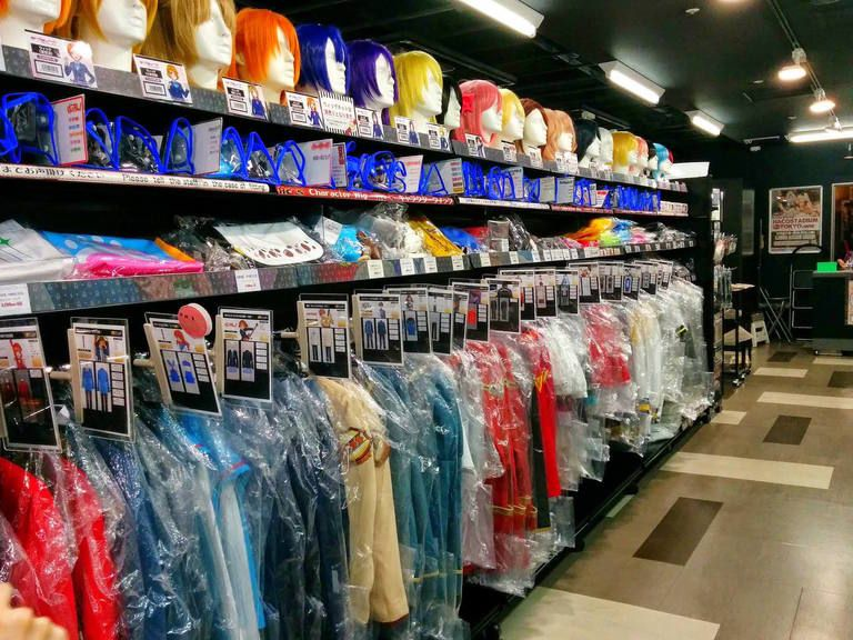 5 best cosplay costumes and clothes shops in akihabara