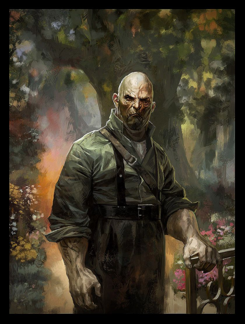 dishonored sokolov painting the