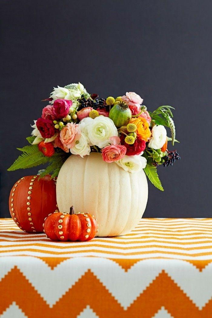 Tischdeko Herbst - 51 Vorschläge für eine herbstliche Tafel ...