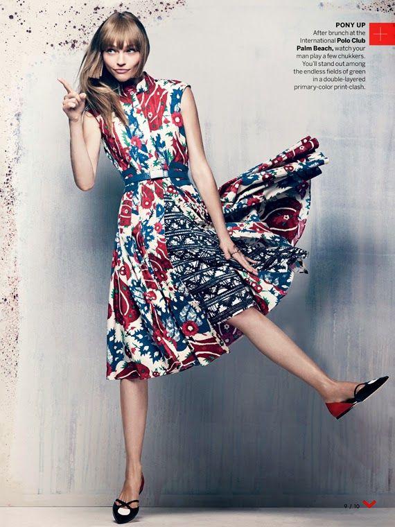 Fashion Editorial - Sasha Pivovarova And Xiao Wen Ju For Us Vogue November 2013! | Art And Chic