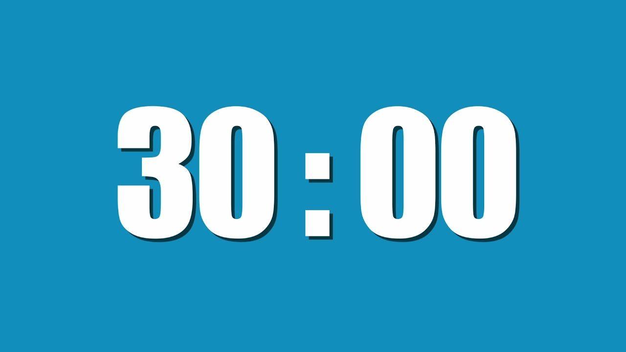 30 minute timer countdown timer pinterest countdown. Black Bedroom Furniture Sets. Home Design Ideas