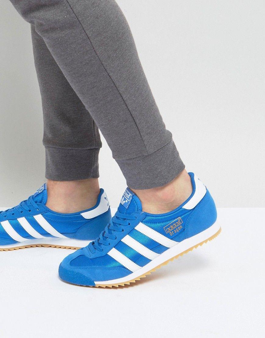 official photos 51554 8bf34 ADIDAS ORIGINALS DRAGON OG SNEAKERS IN BLUE - BLUE.  adidasoriginals  shoes