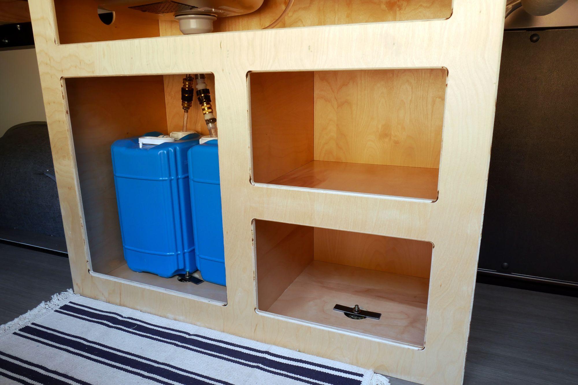 Image Result For Campervan Ceiling Cupboard