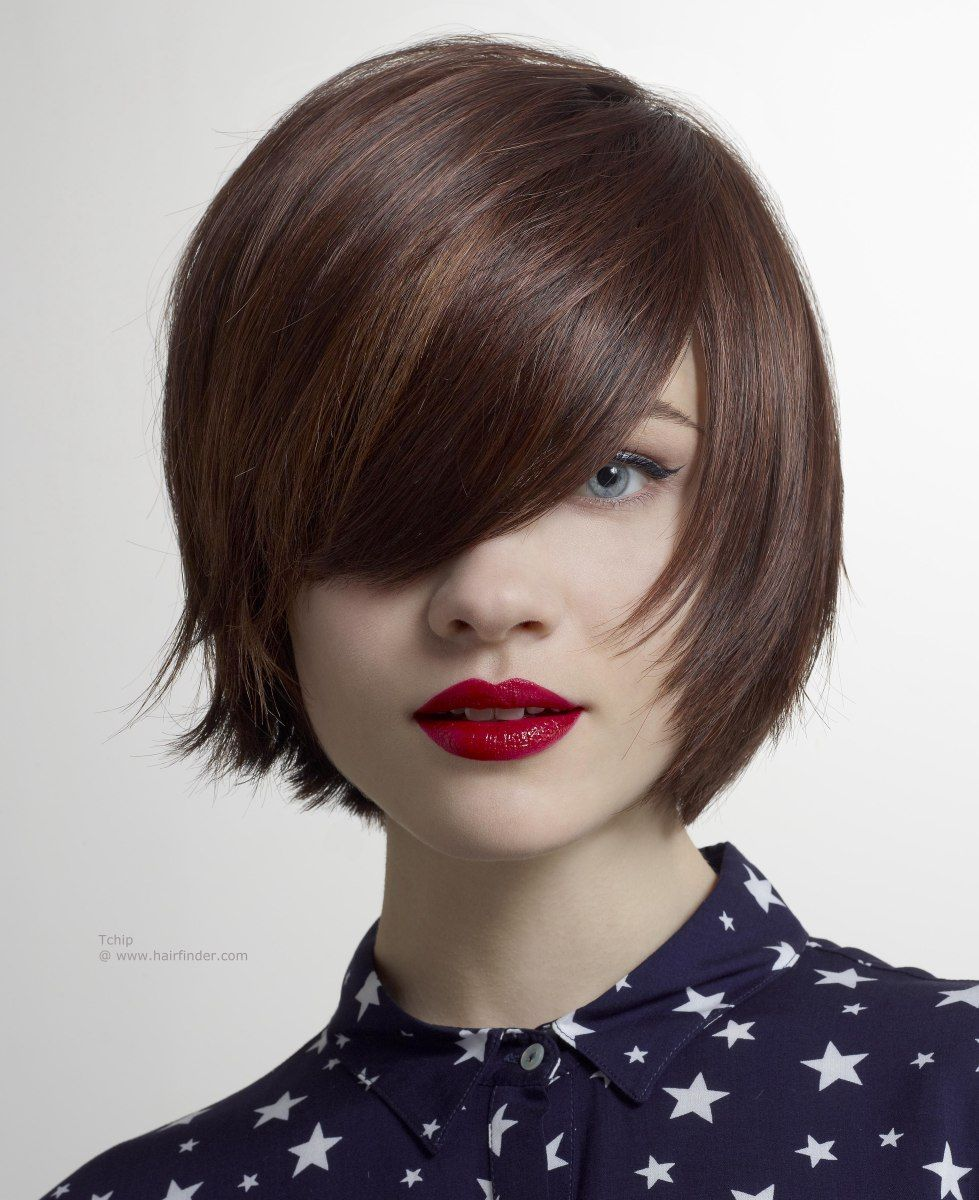 Short Bob With Bangs Httphairfinderhairstyles12tchip