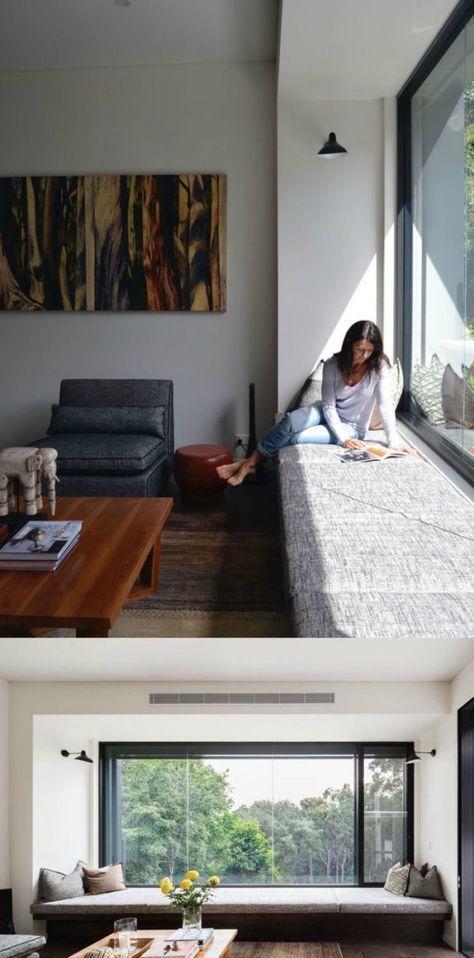 Modernes Design der Fensterbank zum Sitzen – 20 Designideen, #bestbedroomdecorsmallspaces #Des …   – Beste Schlafzimmerdekoration Blog
