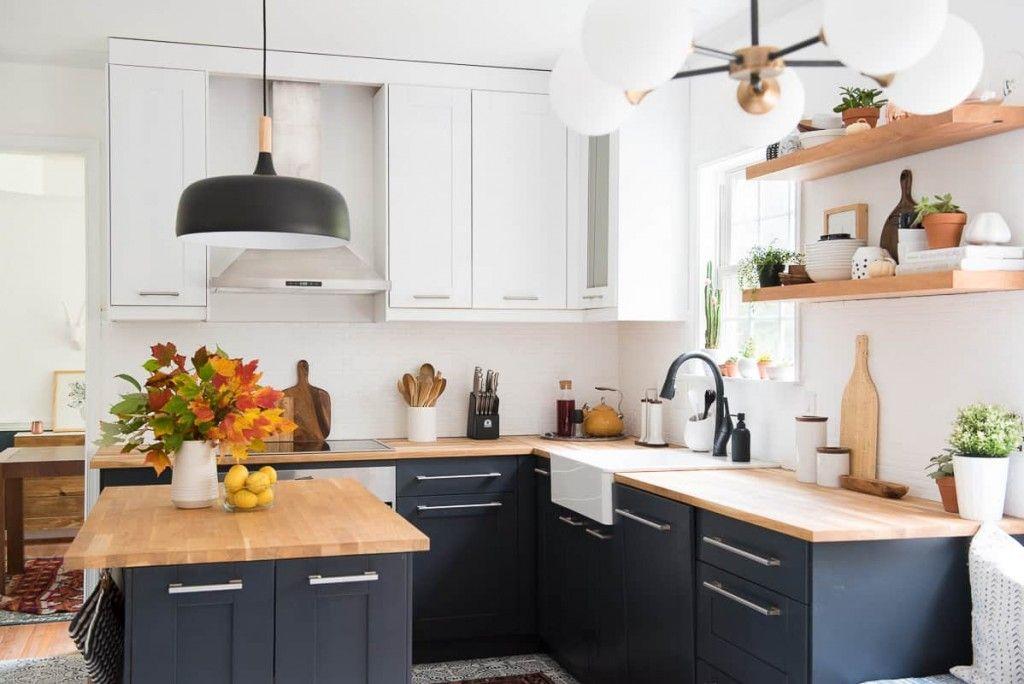 Antes y después de una cocina poco actual | Cocinas, Acogedor y Moderno