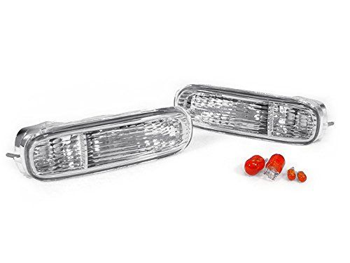 99-04 For Ford Mustang Smoke Lens Pair Bumper Fog Light Lamp OE Replacement DOT