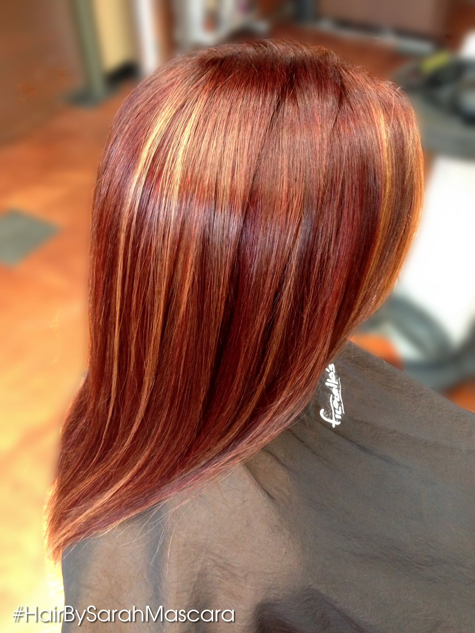 Cherry Blonde Hair Color | Chocolate Cherry Hair Color With Blonde ...