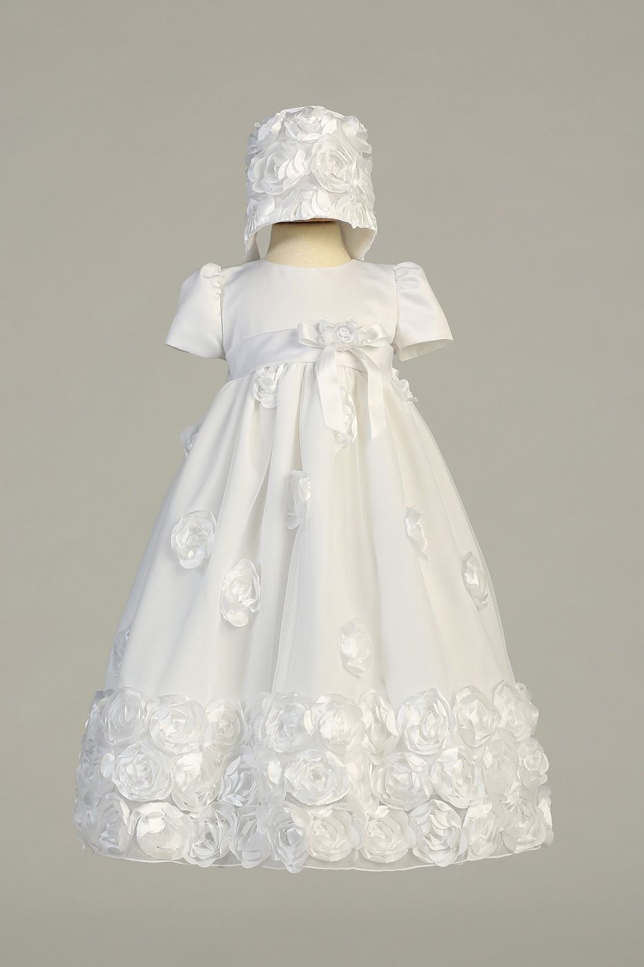 beeba4b9d Christening Gown Clarice by Lito Christening Outfit Girl, Christening Gowns,  Floral Ribbon, Boys