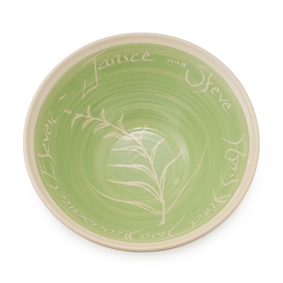Personalized Wedding Bowl