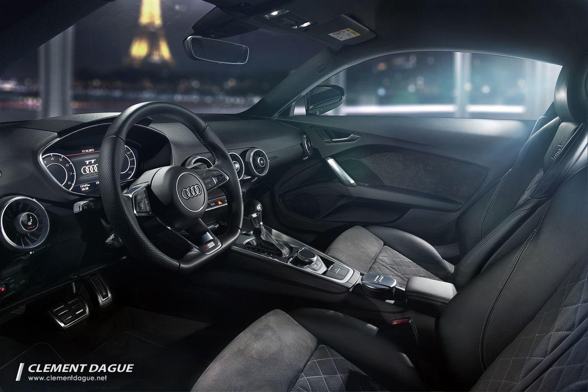 Audi tt 2015 interior in paris interior of the audi tt mk3 in paris