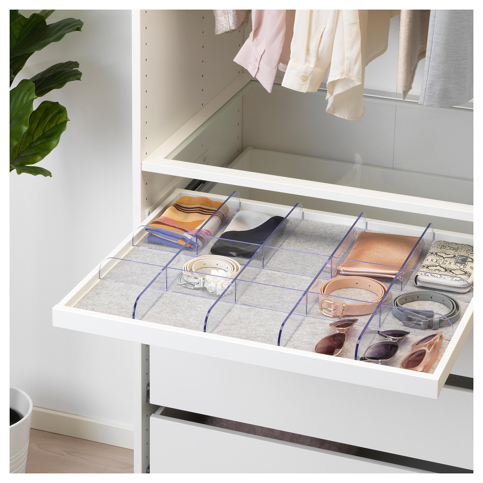 Komplement Trennsteg Fur Ausziehboden Transparent Ikea
