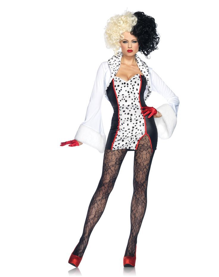 Cruella Adult Women's Costume in Halloween 2012 from Spirit Halloween