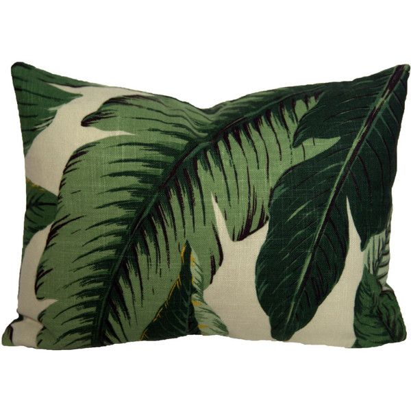 455 Eye Apartments: Ready To Ship 11x15 Banana Palm Lumbar Pillow Cover Palm