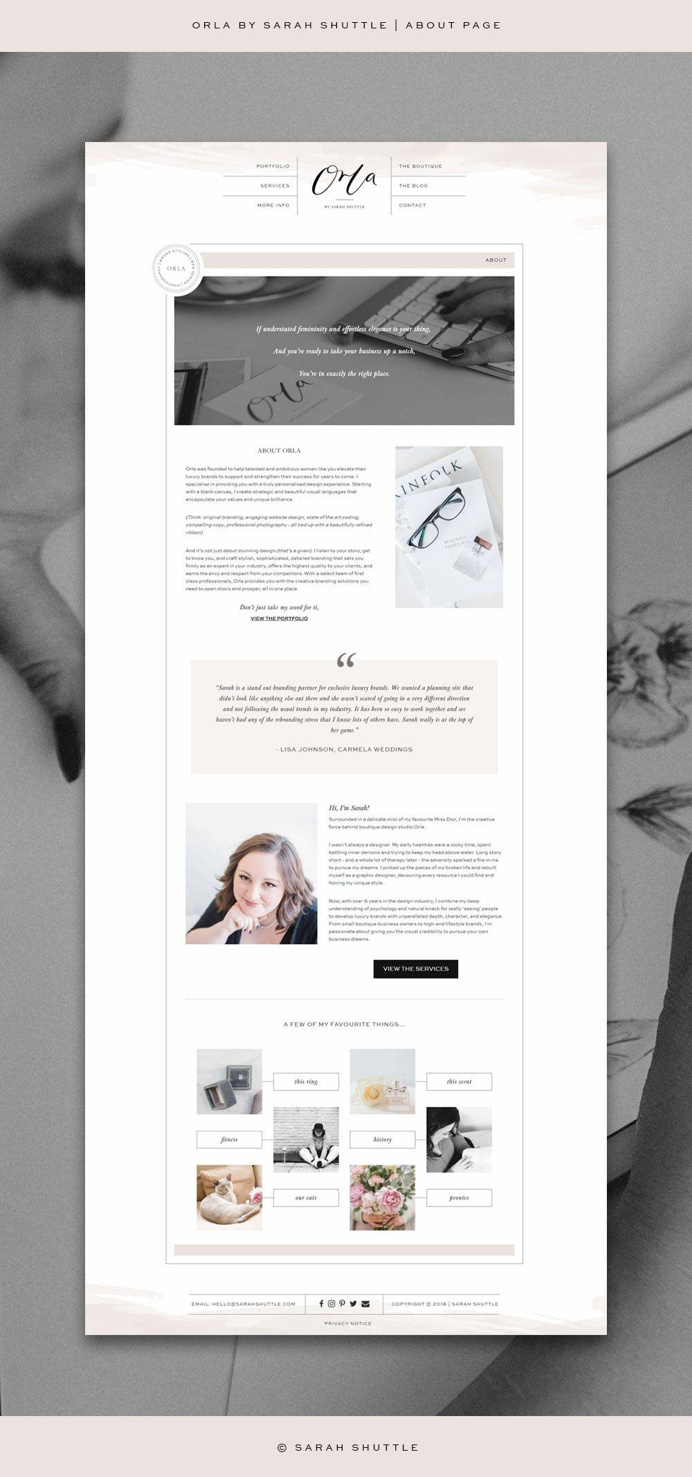Business Branding Brand Styling And Bespoke Web Design For Female Entrepreneurs Web Design Custom Website Design Romantic Website Design