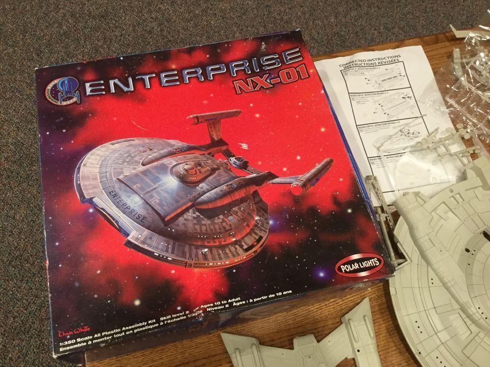 polar lights star trek enterprise nx 01