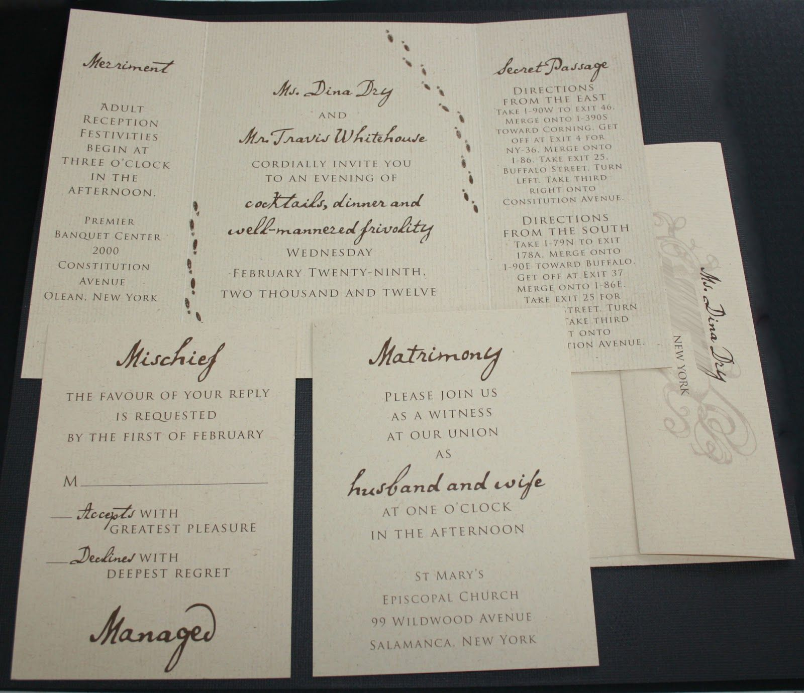first line of wedding invitations%0A harry potter wedding invitations  Google Search