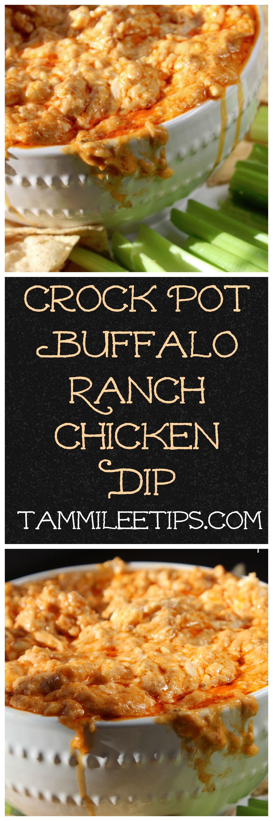unique bridal shower appetizers%0A Crock Pot Buffalo Chicken Dip