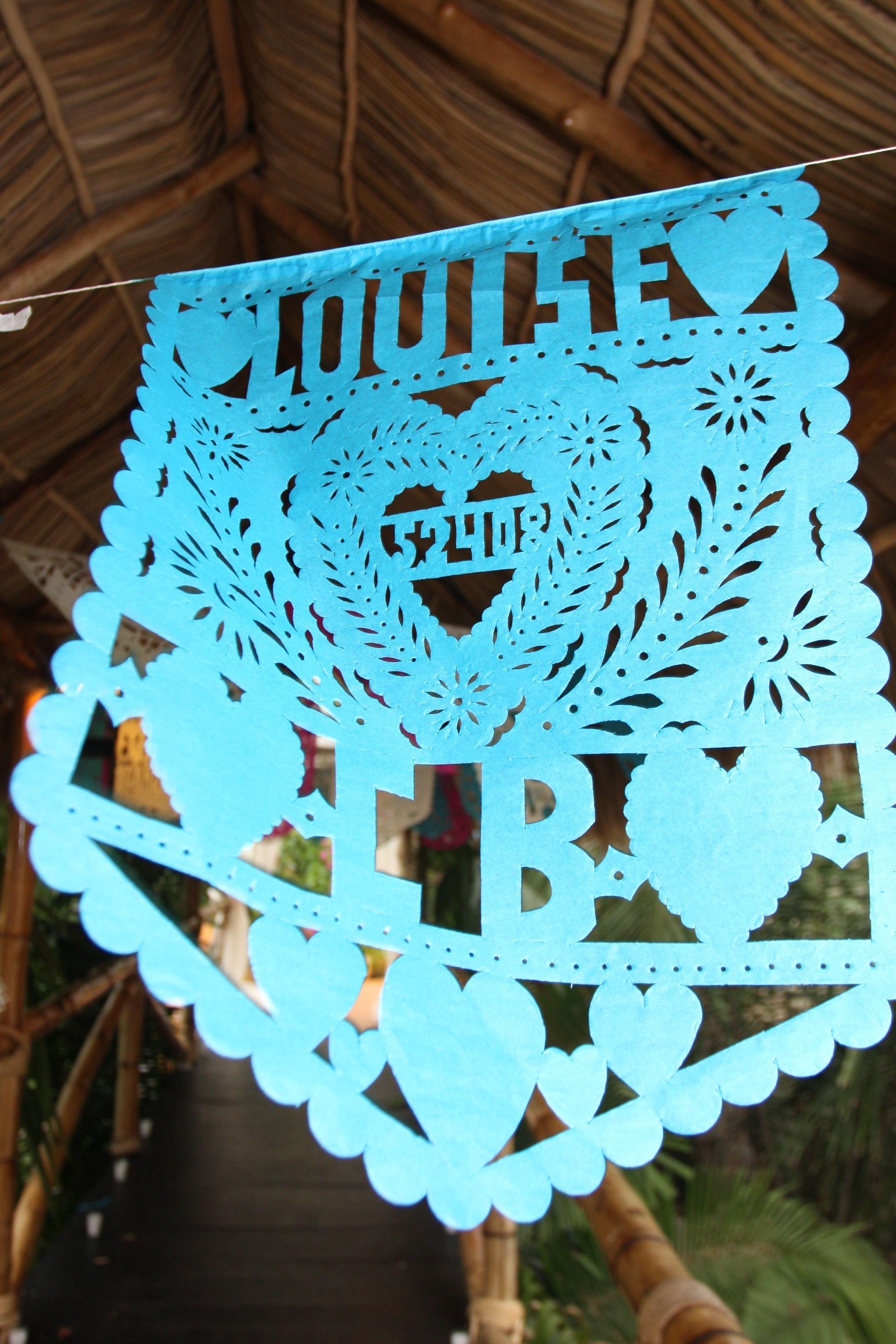 Mexican wedding banner