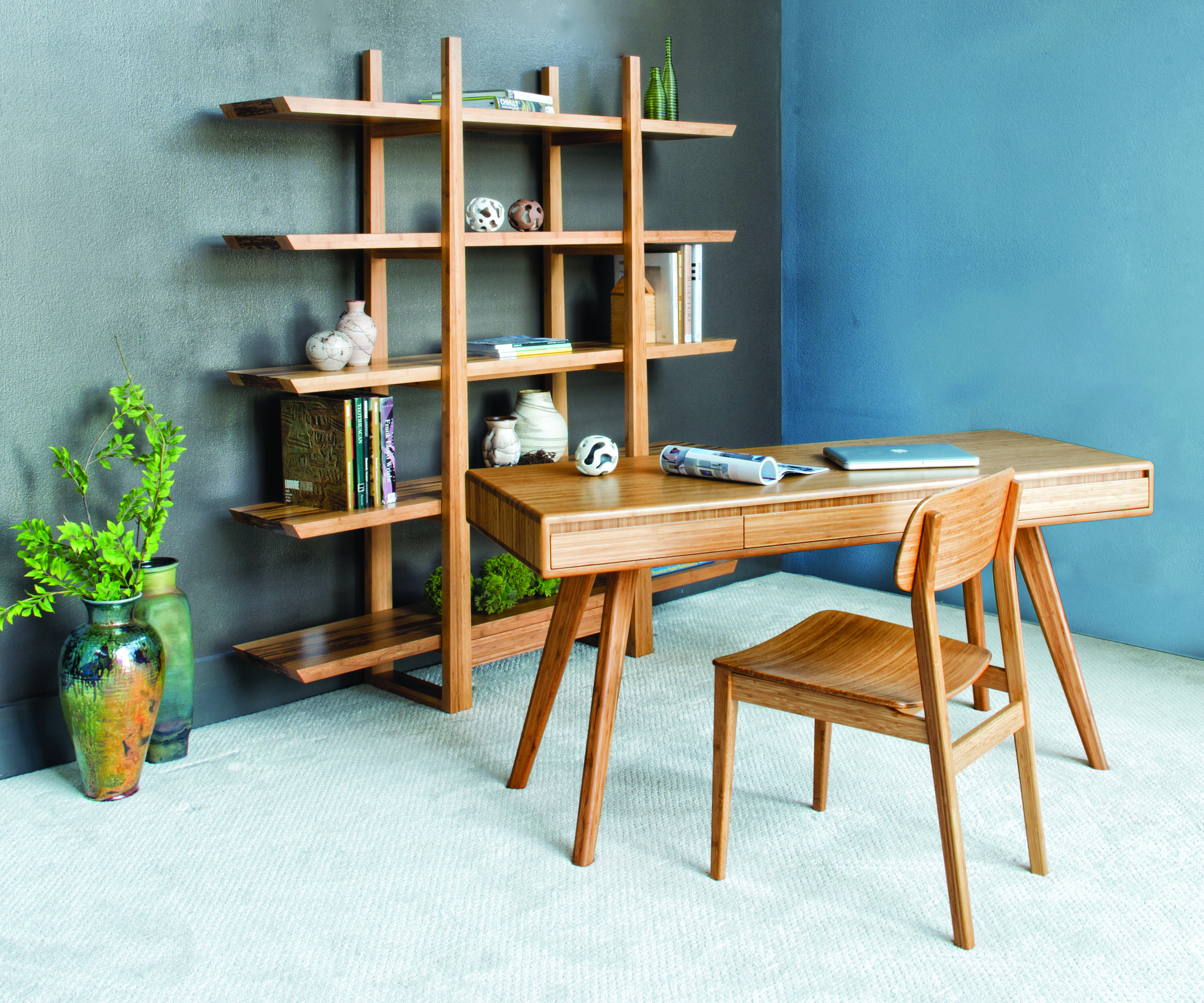Bamboo Furniture Small Office Collection Home office furniture Currant