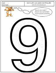 Buradan Indirin Boyama 9 Rakami En Iyi Boyama Cocuk Kitabi