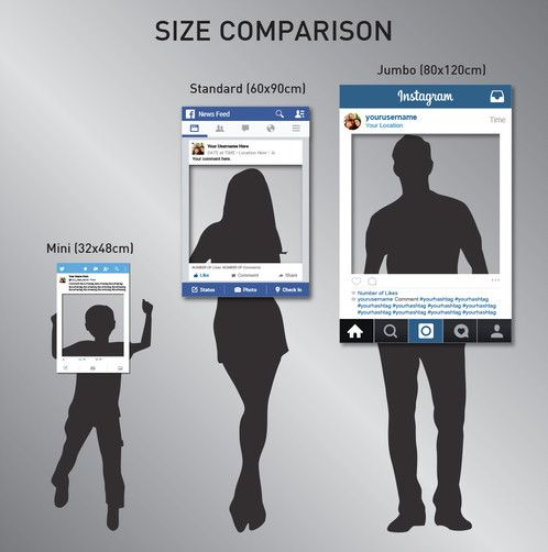 Instagram Photo Booth Prop, Instagram Frame, Instagram Sign, Photo ...