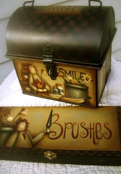 | The Paint Box & Brush Box Packet by Maxine Thomas