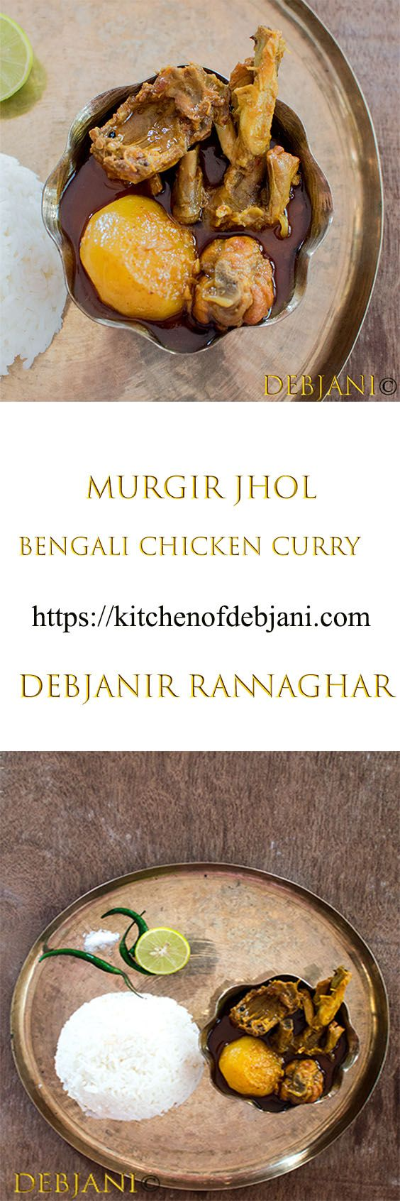 Robibarer Murgir Jhol from my Mother\'s Kitchen | Recipe | Pinterest ...