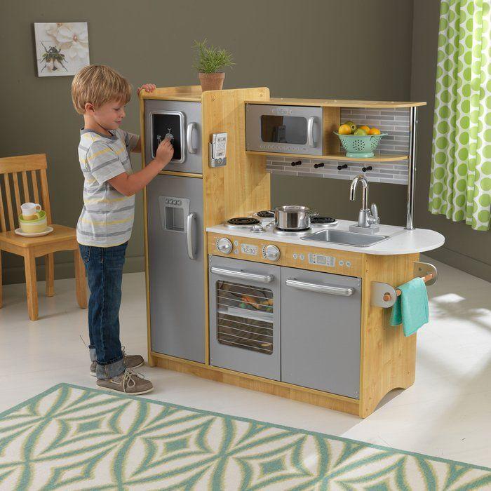uptown kitchen set in 2019 small house wooden play kitchen rh pinterest com