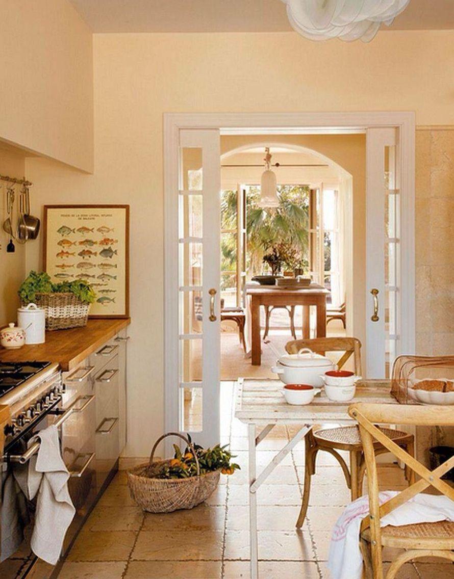 Country style Spanish interior home interior