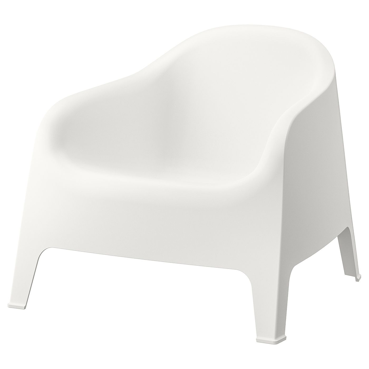 Skarpo Armchair Outdoor White In 2020 Ikea Armchair Outdoor