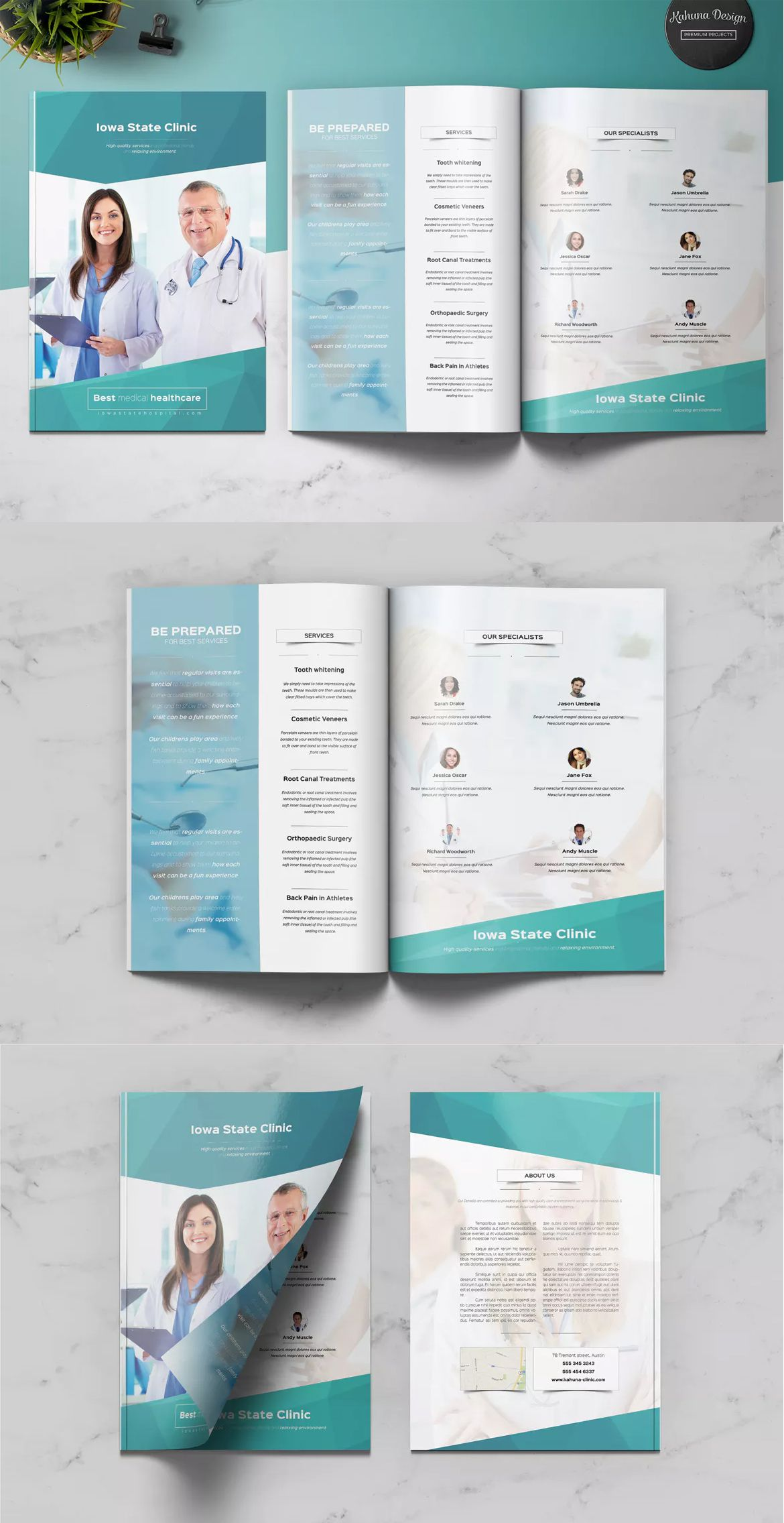 Medical Multipurpose Brochure Template Indesign Indd A4 And Us