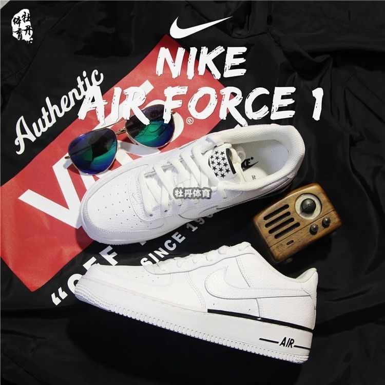 Shop Nike Air Force 1 Low White AF1 488298-160 Nike Air Force Low 91d3db5e59