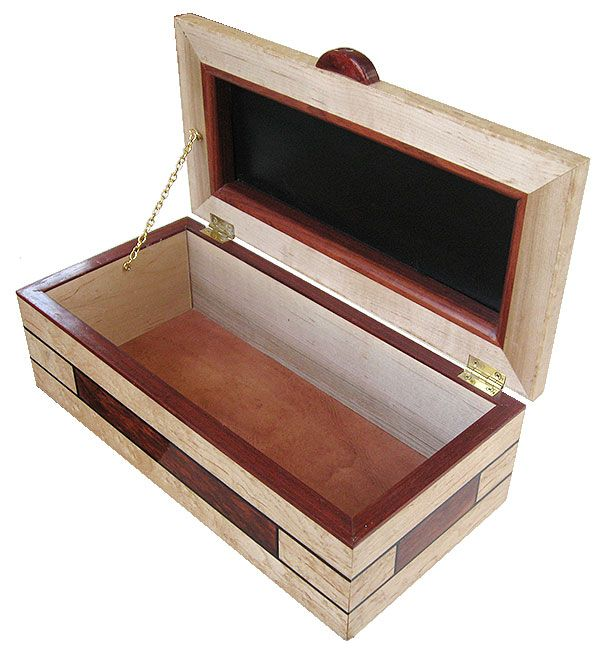 Handmade Decorative Boxes Handmade Decorative Wood Box  Open View  Boxes  Pinterest