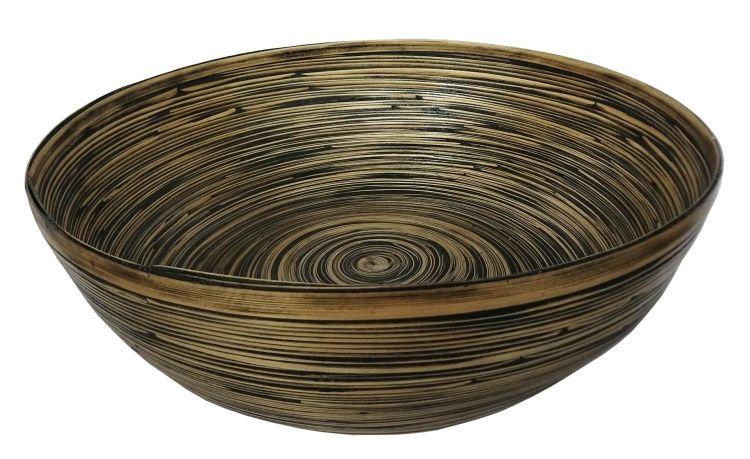 bamboo decorative centerpiece bowl stohans showcase elegant rh pinterest com