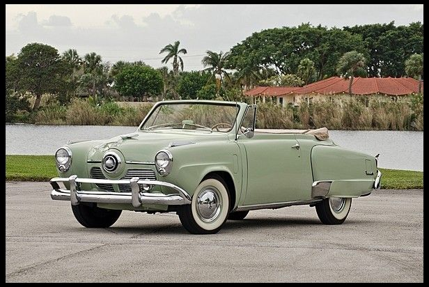 1951 Studebaker Commander Convertible 232 CI 3Speed  Fun in the