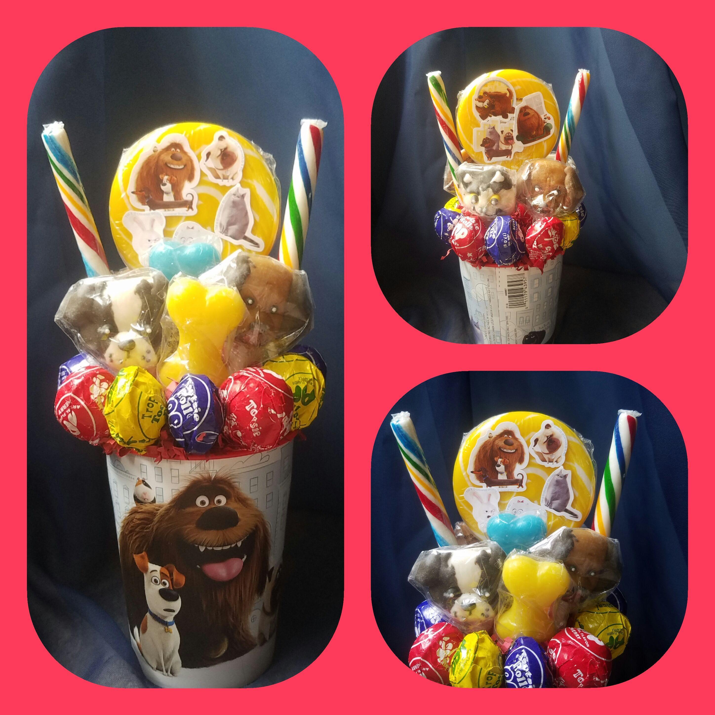 The Secret Life Of Pets Lollipop Bouquet Lollipop Bouquet