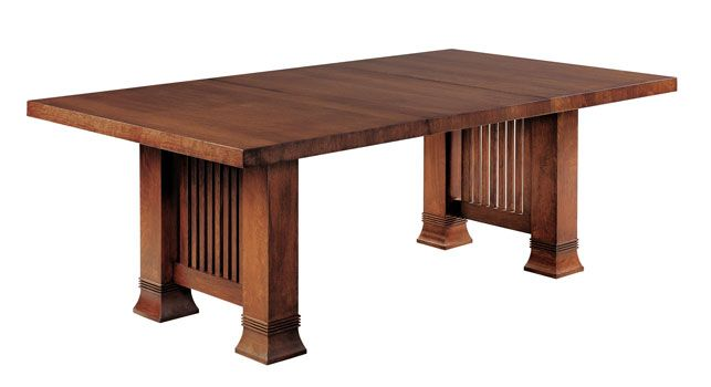 Mission style dining tables and chairs google search for Mission style dining table