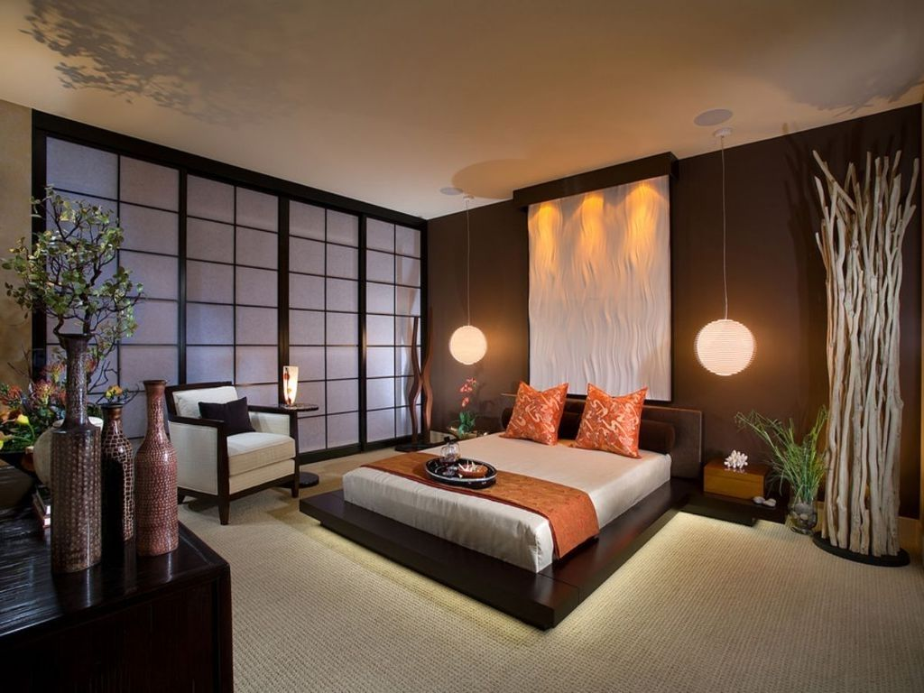 enhance your home beauty and functionality with 2016 japanese bedroom design - Brown Themed Bedroom Designs