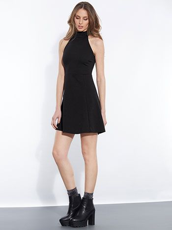 4886a02091e9 Πικέ φόρεμα με ζιβάγκο λαιμόκοψη €14