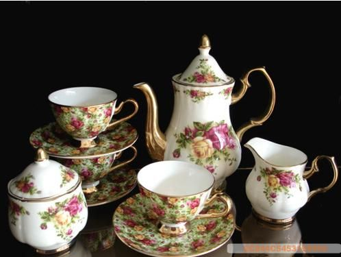 Hot Item Fine Bone China Coffee Dishes And Cups China Crockery Bone China China Tea Sets
